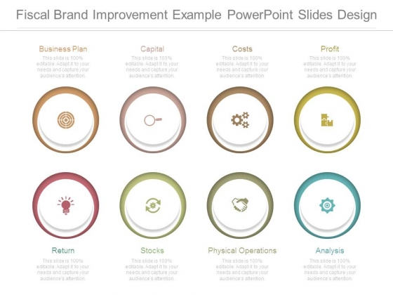 Fiscal Brand Improvement Example Powerpoint Slides Design