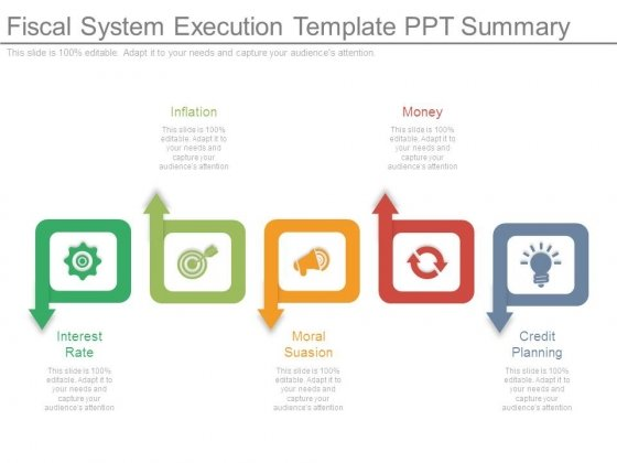 Fiscal System Execution Template Ppt Summary