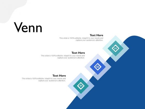 Five Business Strategic Approaches Venn Ppt Pictures Ideas PDF