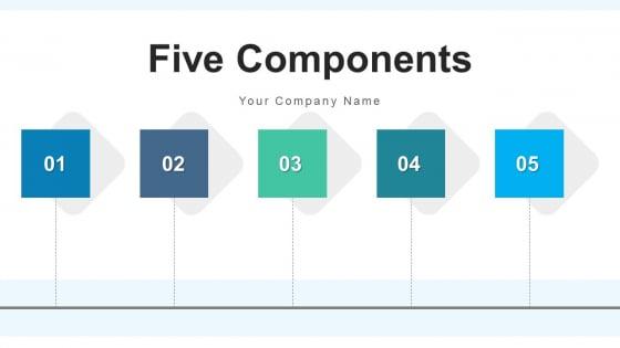 Five Components Revenue Growth Ppt PowerPoint Presentation Complete Deck