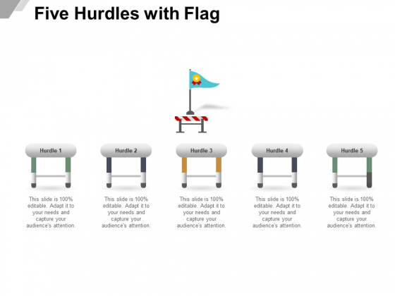 Five_Hurdles_With_Flag_Ppt_PowerPoint_Presentation_Outline_Graphic_Tips_Slide_1