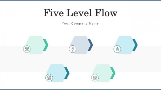 Five Level Flow Business Continuity Ppt PowerPoint Presentation Complete Deck