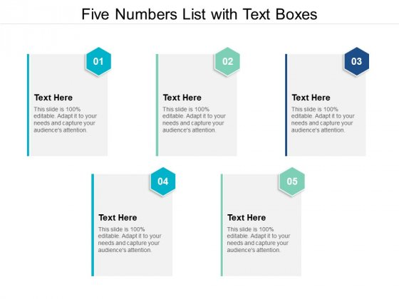 Five_Numbers_List_With_Text_Boxes_Ppt_PowerPoint_Presentation_Infographics_Tips_Slide_1