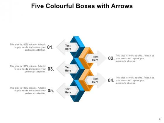 Five_Pack_Arrows_Process_Ppt_PowerPoint_Presentation_Complete_Deck_Slide_6