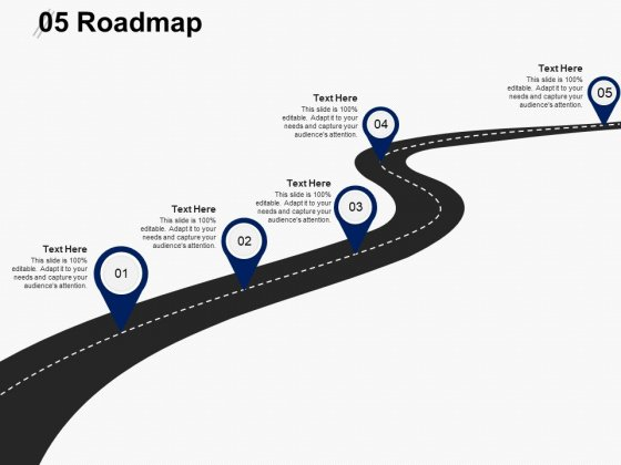 Five Roadmap Ppt PowerPoint Presentation Layouts Graphics