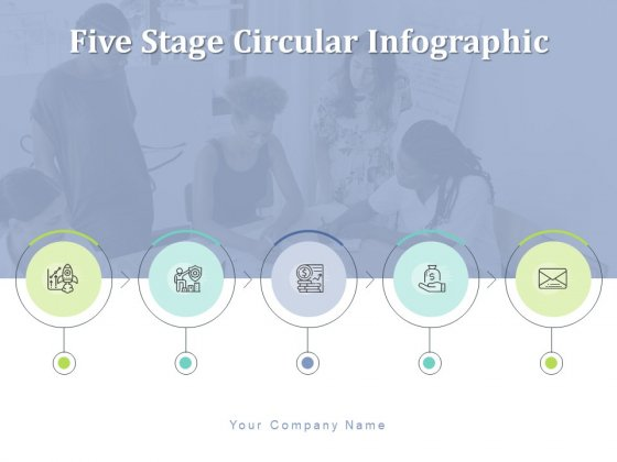Five Stage Circular Infographic Communication Developmental Price Ppt PowerPoint Presentation Complete Deck
