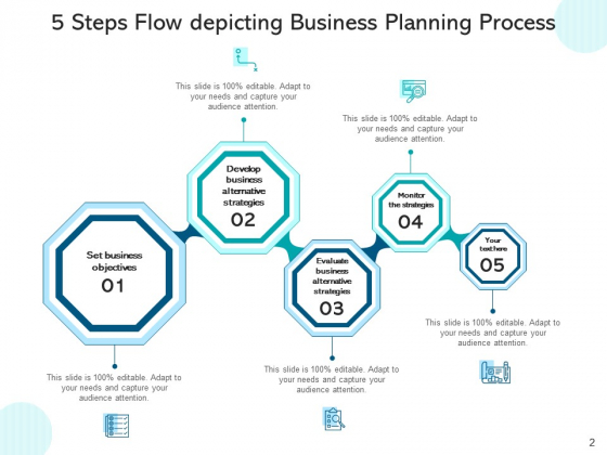 Five_Stage_Process_Stream_Business_Planning_Ppt_PowerPoint_Presentation_Complete_Deck_Slide_2