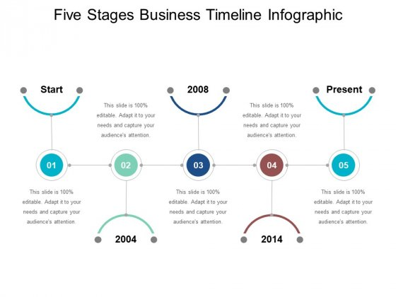 Five Stages Business Timeline Infographic Ppt PowerPoint Presentation Icon Clipart Images