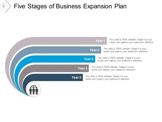 Five Stages Of Business Expansion Plan Ppt PowerPoint Presentation Images