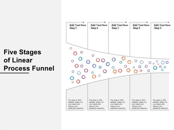 Five_Stages_Of_Linear_Process_Funnel_Ppt_PowerPoint_Presentation_Professional_Graphics_Template_PDF_Slide_1