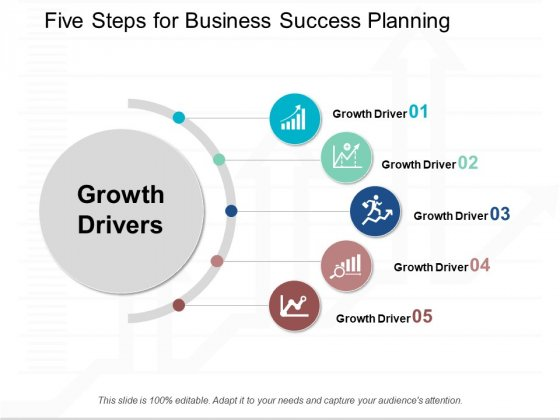 Five Steps For Business Success Planning Ppt Powerpoint Presentation Visual Aids