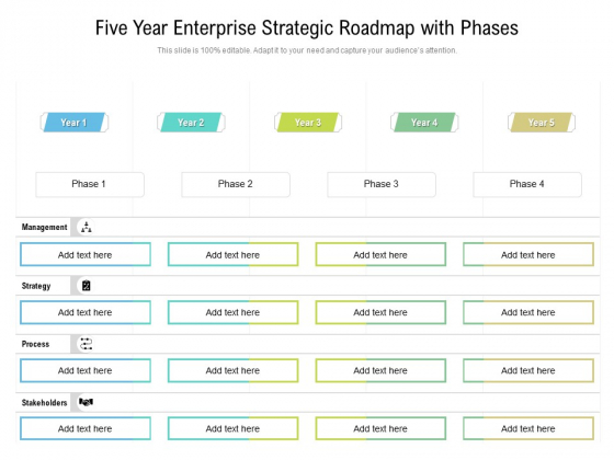 Five_Year_Enterprise_Strategic_Roadmap_With_Phases_Slides_Slide_1