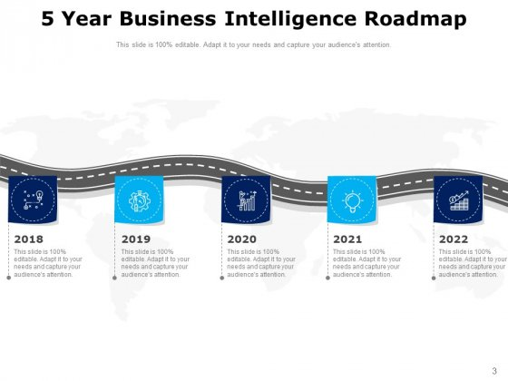 Five_Years_Timeline_Business_Intelligence_Development_Ppt_PowerPoint_Presentation_Complete_Deck_Slide_3