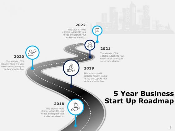 Five_Years_Timeline_Business_Intelligence_Development_Ppt_PowerPoint_Presentation_Complete_Deck_Slide_4