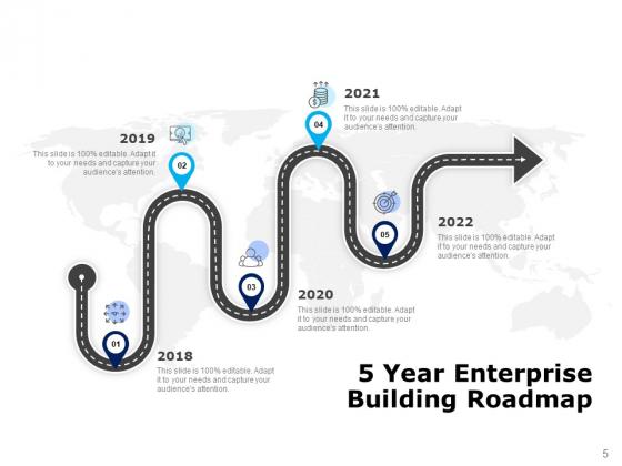 Five_Years_Timeline_Business_Intelligence_Development_Ppt_PowerPoint_Presentation_Complete_Deck_Slide_5