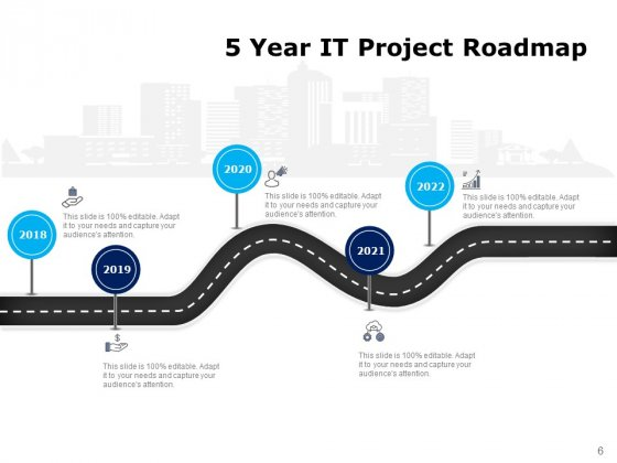 Five_Years_Timeline_Business_Intelligence_Development_Ppt_PowerPoint_Presentation_Complete_Deck_Slide_6
