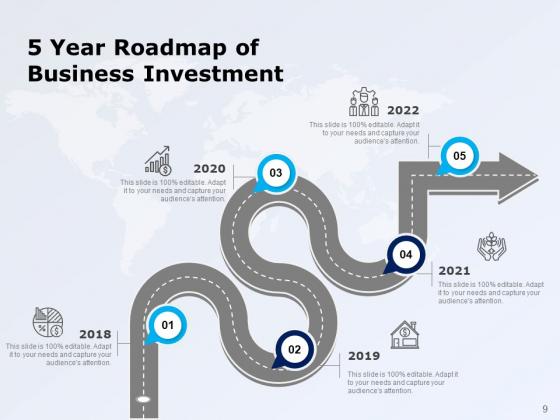 Five_Years_Timeline_Business_Intelligence_Development_Ppt_PowerPoint_Presentation_Complete_Deck_Slide_9