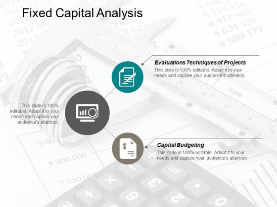 Fixed Capital Analysis Ppt Powerpoint Presentation Ideas Graphics Design