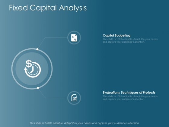 Fixed Capital Analysis Ppt Powerpoint Presentation Model Show