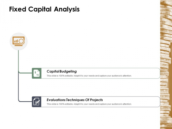 Fixed Capital Analysis Ppt Powerpoint Presentation Portfolio Backgrounds