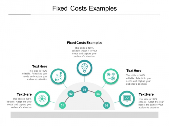 Fixed Costs Examples Ppt PowerPoint Presentation Styles Inspiration Cpb