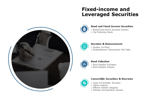 Fixed Income And Leveraged Securities Ppt PowerPoint Presentation Slides Mockup