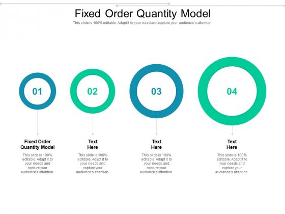Fixed Order Quantity Model Ppt PowerPoint Presentation Slides Graphic Images Cpb Pdf