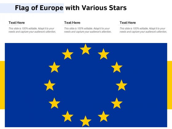 Flag_Of_Europe_With_Various_Stars_Ppt_PowerPoint_Presentation_Icon_Ideas_PDF_Slide_1