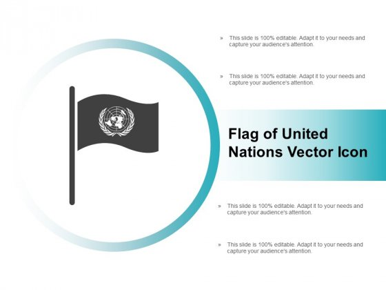 Flag Of United Nations Vector Icon Ppt PowerPoint Presentation Summary Introduction