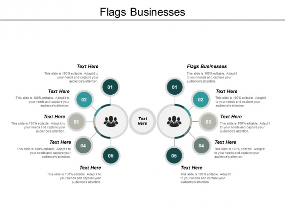 Flags Businesses Ppt PowerPoint Presentation Slides Infographics Cpb