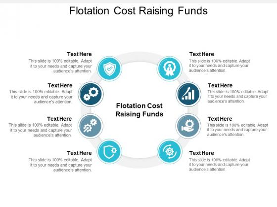 Flotation Cost Raising Funds Ppt PowerPoint Presentation Show Smartart Cpb