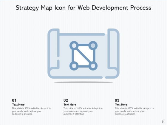Flow_Chart_Icon_Strategy_Development_Ppt_PowerPoint_Presentation_Complete_Deck_Slide_6