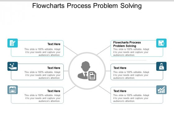 Flowcharts Process Problem Solving Ppt PowerPoint Presentation Ideas Master Slide Cpb