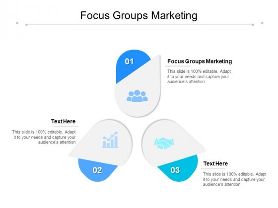 Focus Groups Marketing Ppt PowerPoint Presentation Professional Maker Cpb