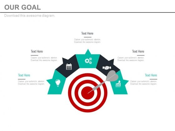 Focus On Your Objective And Goals Powerpoint Slides