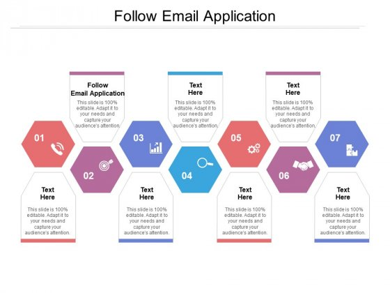 Follow Email Application Ppt PowerPoint Presentation Summary Design Templates Cpb Pdf