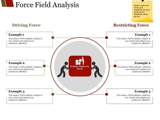 Force Field Analysis Ppt PowerPoint Presentation File Layout