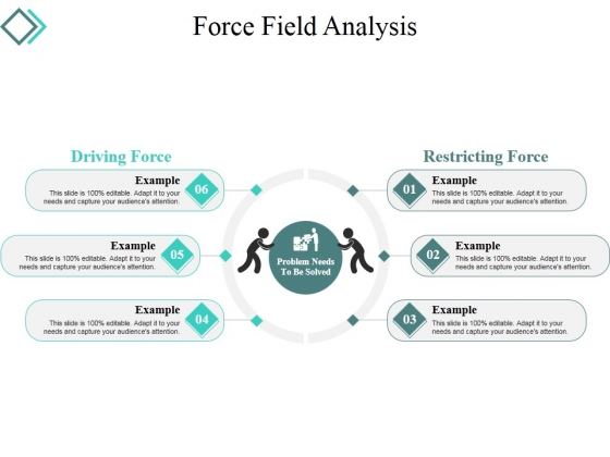 Force Field Analysis Template  Ppt Powerpoint Presentation Styles