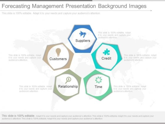 Forecasting Management Presentation Background Images