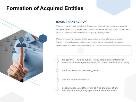 Formation Of Acquired Entities Ppt PowerPoint Presentation Icon Ideas