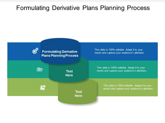 Formulating Derivative Plans Planning Process Ppt PowerPoint Presentation File Template Cpb
