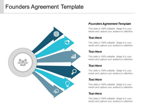 Founders Agreement Template Ppt PowerPoint Presentation Ideas Sample Cpb