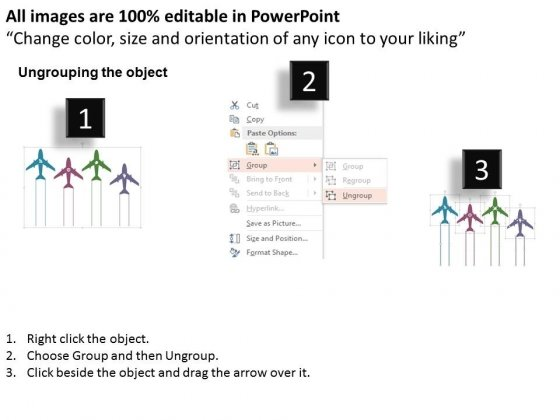 Four_Airplanes_With_Text_Tags_Powerpoint_Templates_2