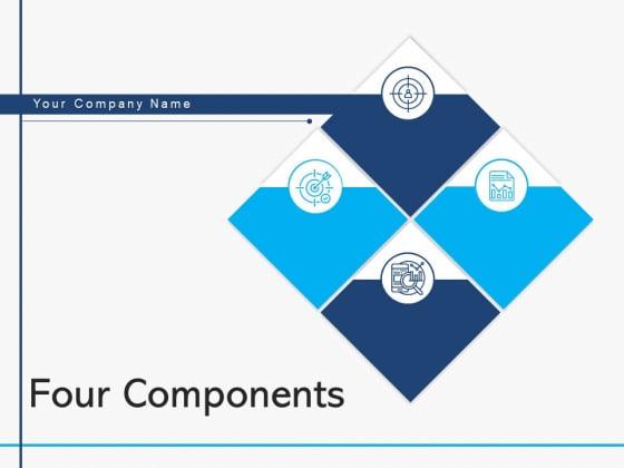 Four Components Agenda Transformation Ppt PowerPoint Presentation Complete Deck