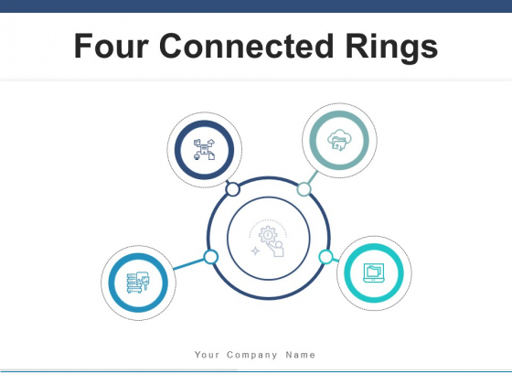 Four Connected Rings Maximization Process Ppt PowerPoint Presentation Complete Deck