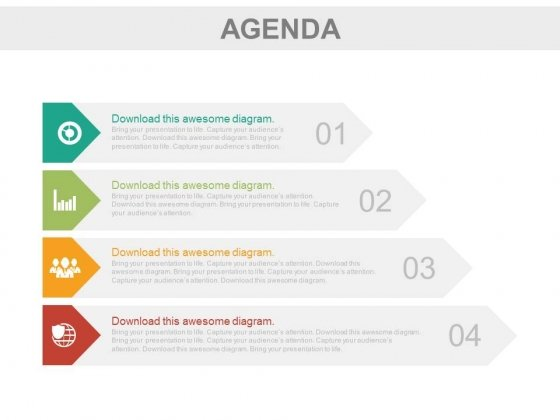 Four_Infographic_Tags_To_Present_Business_Agenda_Powerpoint_Slides_1