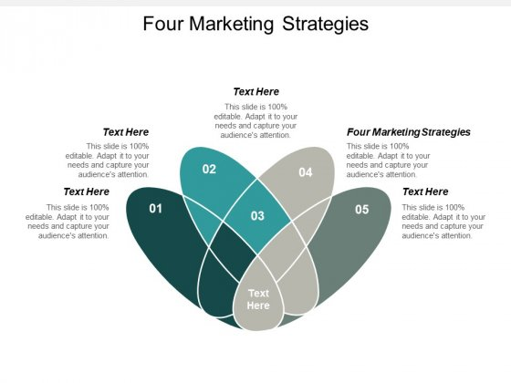 Four Marketing Strategies Ppt PowerPoint Presentation Gallery Example Cpb