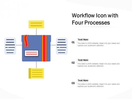 Four Options Process Chart Vector Icon Ppt PowerPoint Presentation Professional Background Designs PDF