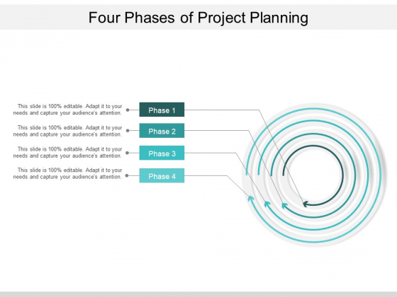 Four Phases Of Project Planning Ppt PowerPoint Presentation Pictures Summary