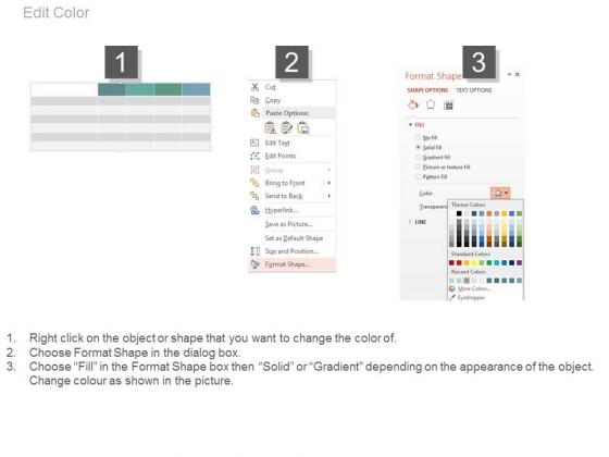 Four_Plan_Options_Table_Diagram_Powerpoint_Slides_2